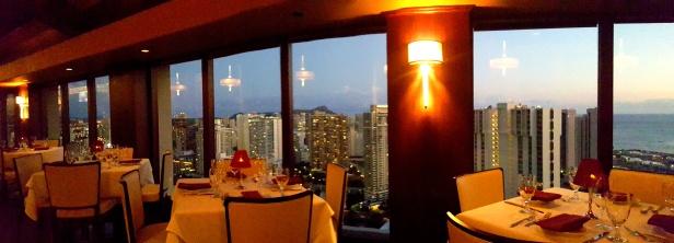 Beautiful views of downtown Honolulu